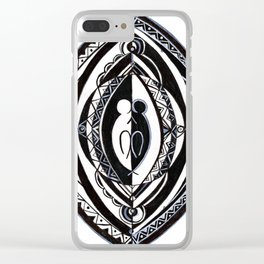 Duality Dream Clear iPhone Case