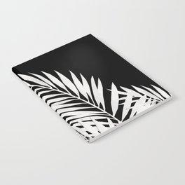 Palm Leaves White Notebook