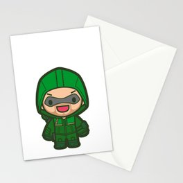 Green Archer Stationery Cards