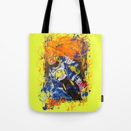 Moto Splash Tote Bag