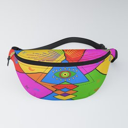 All Seeing Eye Popart Fanny Pack