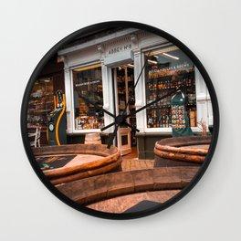 When in Belgium Wall Clock