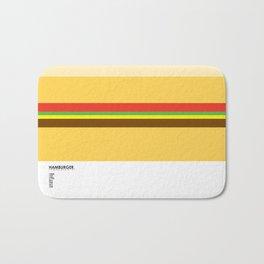 Pantone Food - Hamburger Bath Mat