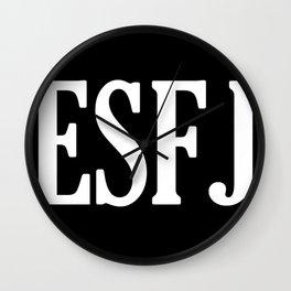 ESFJ Personality Type Wall Clock