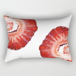Strawberry Slice Rectangular Pillow
