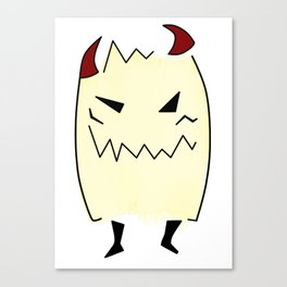 Everyone has a little demon inside Canvas Print