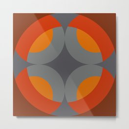 Tridamus - Colorful Abstract Art Metal Print