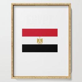 egypt flag egyptian tee egypt hooded sweatee Serving Tray