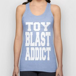 Toy Blast Addict Unisex Tank Top