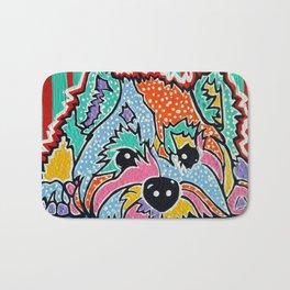 Cotton Candy Designer Dog Series Puppy Pet Westie Westy West Highland Terrier Scottish Cairn Norfolk Bath Mat