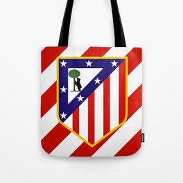 Atletico Madrid Tote Bag