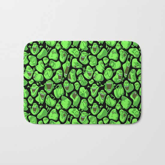 Fifty shades of slime. Bath Mat