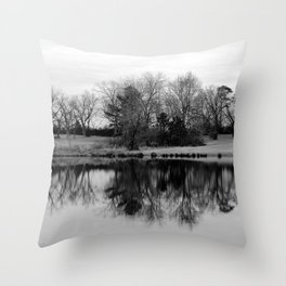 Tree Relection 1 Throw Pillow