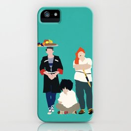 Kidnapping Caucassian Style iPhone Case
