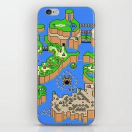 Mario World iPhone Skin