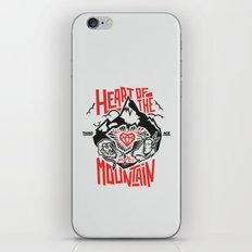 Heart of the Mountain iPhone & iPod Skin
