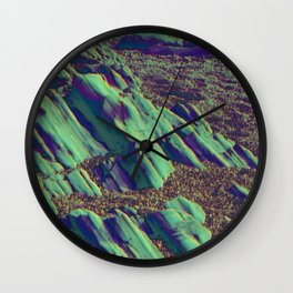 coastal pastel Wall Clock