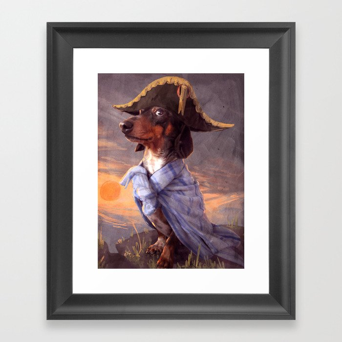 Little Napoleon Framed Art Print