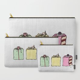 P is for Petit Four Carry-All Pouch