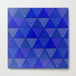Op Art 129 Metal Print