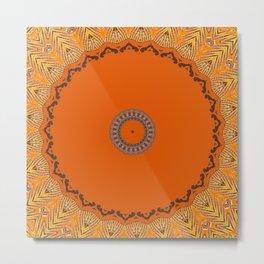 Some Other Mandala 244 Metal Print