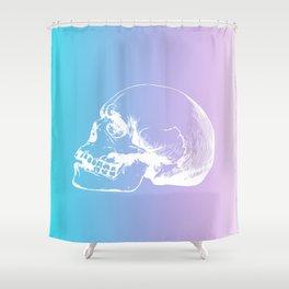 NeonSkull Shower Curtain