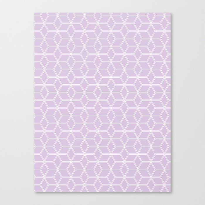 Hive Mind Light Purple #216 Canvas Print