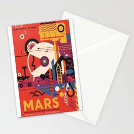 Mars Tour : Space Galaxy Stationery Cards