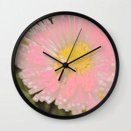 The Singular Beauty Of A Daisy Wall Clock