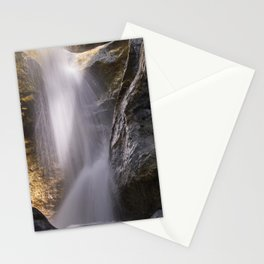Bolos Waterfall. Sierra Nevada National Park Stationery Cards