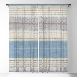 Ombre Stripe 01 Sheer Curtain