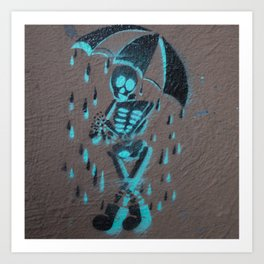 It's Rainin' Dead Men Art Print