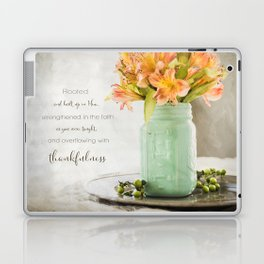 Thankfulness Laptop & iPad Skin