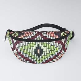Bargello hourglass -  does anyone really know what time it is? Fanny Pack
