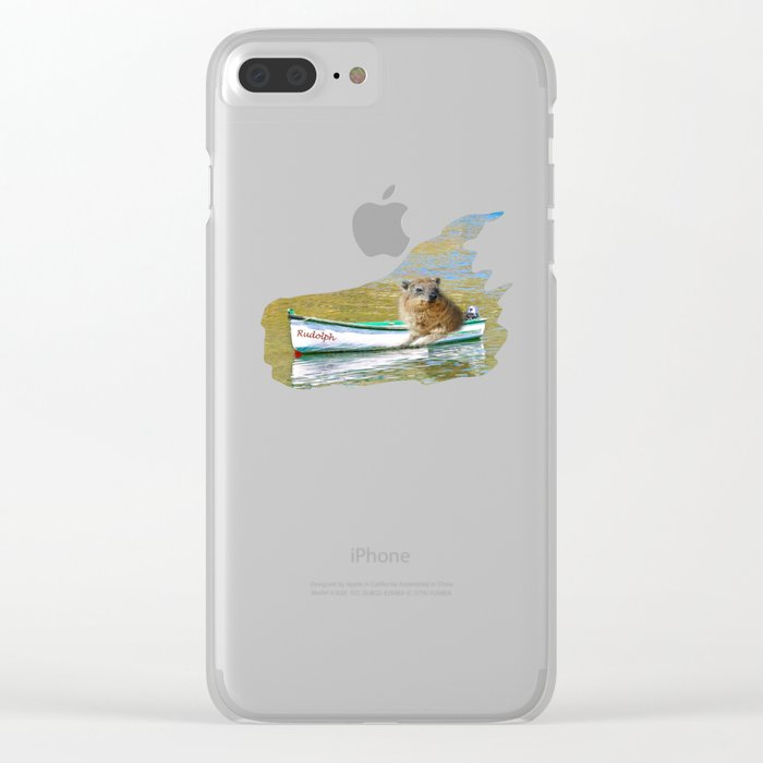 Rudolph at Sea Clear iPhone Case