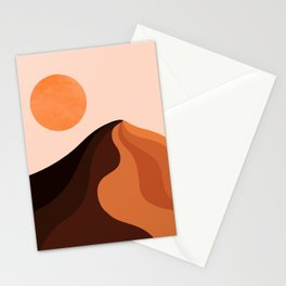 Abstraction_SUN_MOUNTAINS_Bohemian_Minimalism_002 Stationery Cards