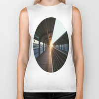 jewish Biker Tanks featuring The light at the end of the tunnel by Brown Eyed Lady