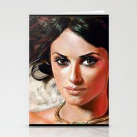 angel Stationery Cards featuring Angel by Veronica  Kokoreva