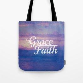 Grace Through Faith - Ephesians 2:8 Tote Bag