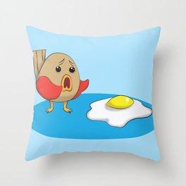 Why Bird Throw Pillow