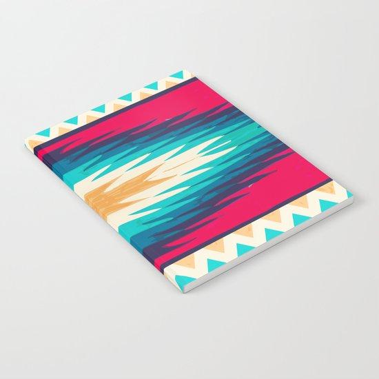 SURF GIRL CHEVRON Notebook