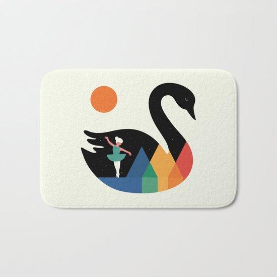 Swan Dance Bath Mat