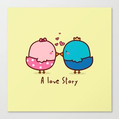 A Love Story Canvas Print