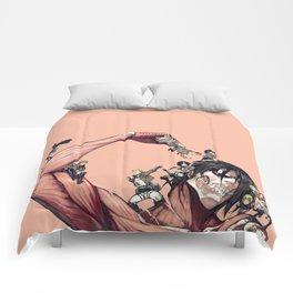 Demon Attack on titan Comforters
