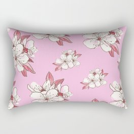 X-tra Ordinary Cherry Blossoms Rectangular Pillow