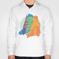 headdress Hoodies featuring Headdress  by kpatron