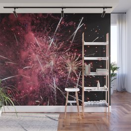 Fireworks Finale Wall Mural