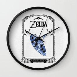 Zelda legend - Ocarina of time Wall Clock
