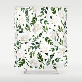 Magnolia Tree Shower Curtain