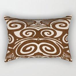 tiki doodle Rectangular Pillow